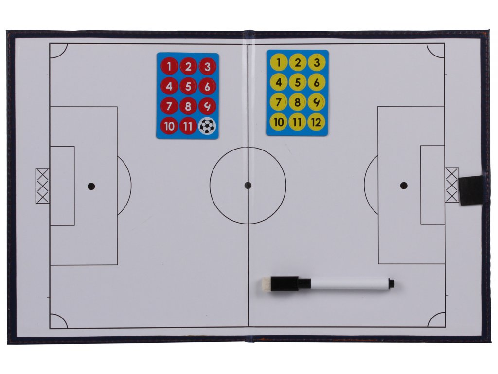 Fotbal 39 magnetická trenérská tabule