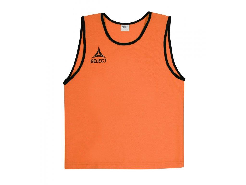 Select Rozlišovací triko Bibs Super oranžová XS