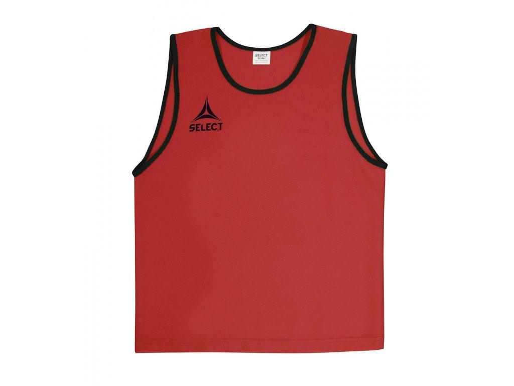 Select Rozlišovací triko Bibs Super světle červená XS