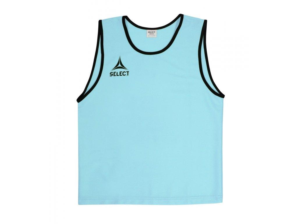 Select Rozlišovací triko Bibs Super tyrkysová XS