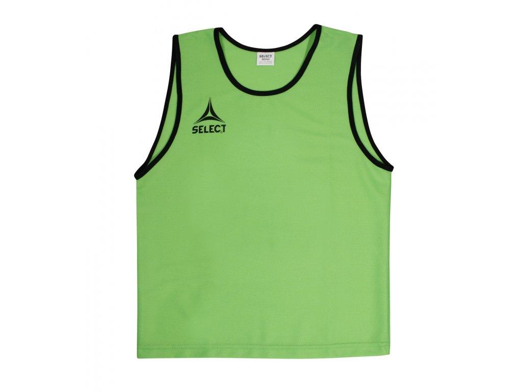 Select Rozlišovací triko Bibs Super zelená XS