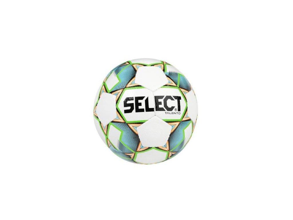 Select Fotbalový míč FB Talento bílo zelená 3 (Velikost 3)