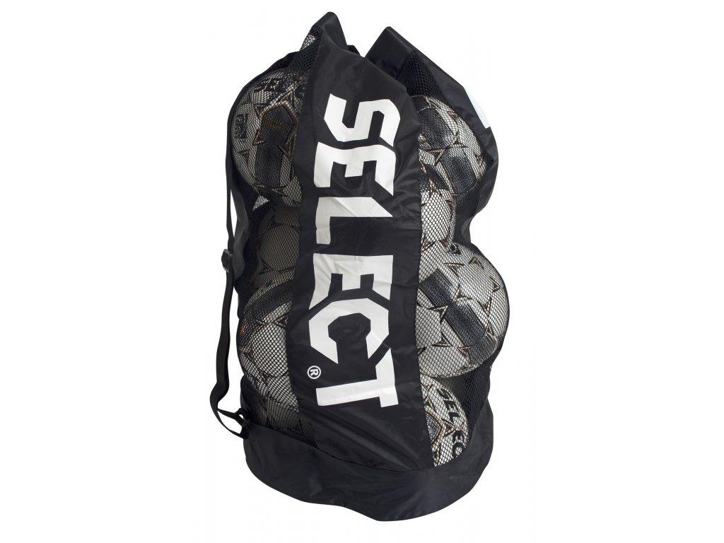 Select Pytel na fotbalové míče Football bag 10-12 balls černá Jedna velikost (BARVA Černá)