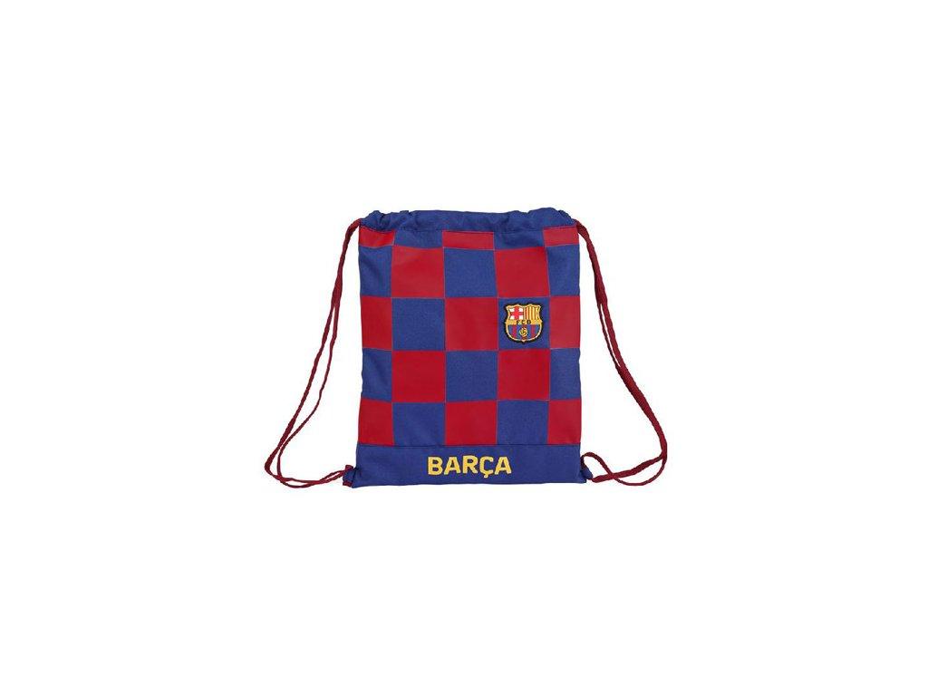 76028 batoh pytlik gym bag fc barcelona vzor 11929 sezona 2020 35 x 40 cm polyester