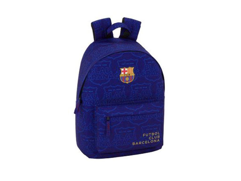 76046 batoh barcelona fc vyska 41 cm day pack modry 41909