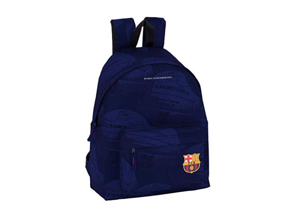 76049 batoh day pack fc barcelona vzor 41904 21 litru 42 x 33 x 15 cm modry polyester