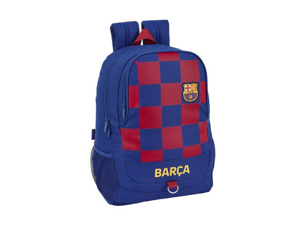 76052 skolni batoh fc barcelona vzor 11929 sezona 2020 objem 22 5 litru 44 x 32 x 16 cm modry polyester