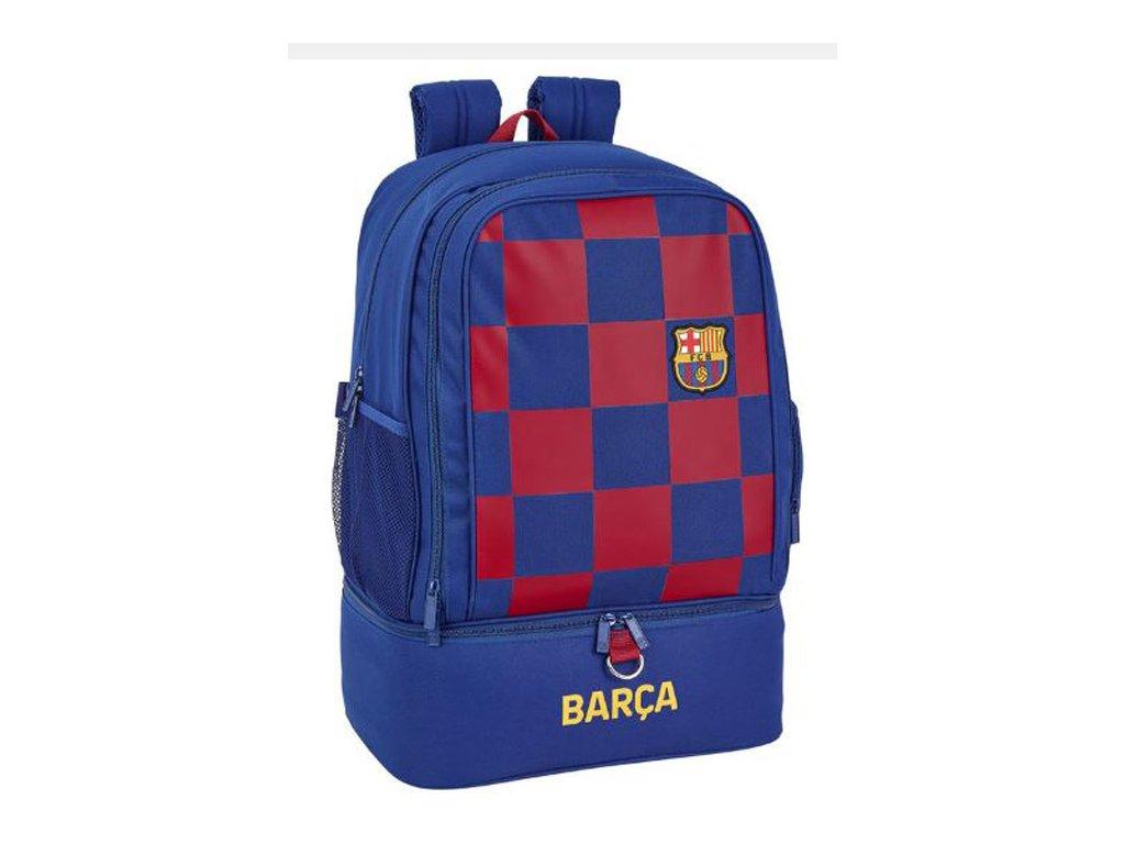 76055 sportovni batoh fc barcelona vzor 11929 sezona 2020 objem 42 litru 50 x 35 x 24 cm modra polyester