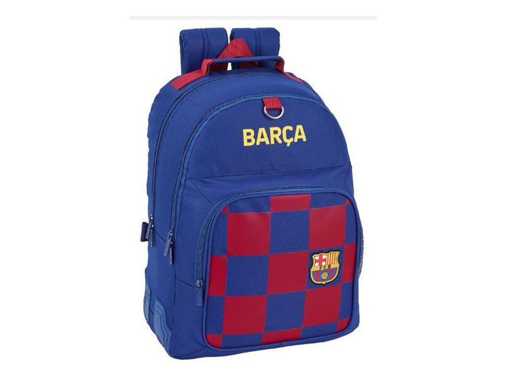 76124 skolni batoh fc barcelona vzor 11929 sezona 2020 objem 20 litru 32 x 42 x 15 cm modry polyester