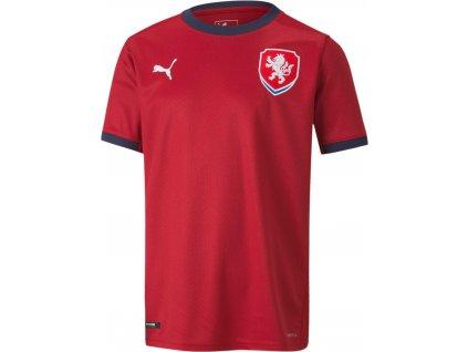 Dětský dres Puma Česká republika Replica 2020/22 domácí