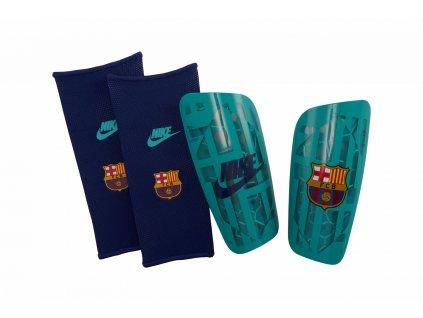 Chrániče Nike FC Barcelona Mercurial Lite (Velikost L)