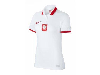 Tričko Nike Polsko Breathe Stadium 2020 Home dámské (Velikost L)