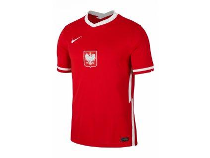 Tričko Nike Polsko Breathe Stadium 2020  výjezdní (Velikost L)
