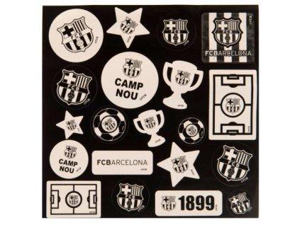 1119221 samolepky fc barcelona sada 20