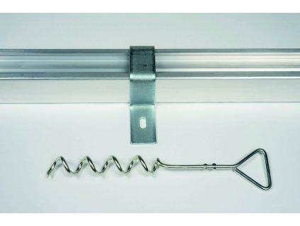 Kotvení Standard pro branky s profilem 80x80 mm