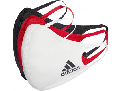Rouška adidas Face Cover 3pack