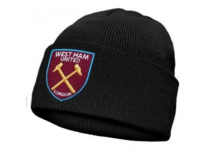 Zimní dětská čepice West Ham United turn up