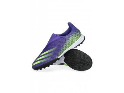 Dětské kopačky adidas X Ghosted.3 LL TF (Velikost 38 EU)