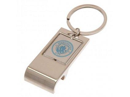 Luxusní kovový otvírák Manchester City
