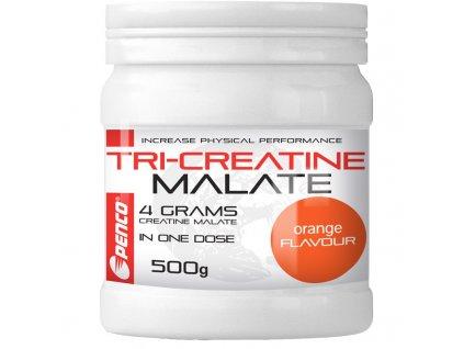PENCO Kreatin nápoj TRICREATIN MALÁT 500g  Pomeranč (Počet tablet/porcí 25)