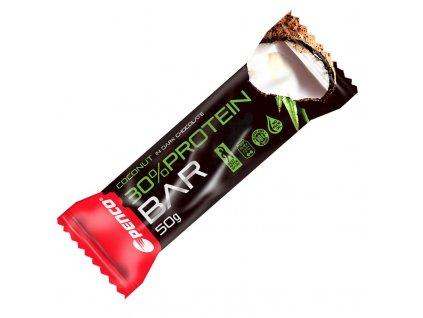 PENCO Proteinová tyčinka  PROTEIN BAR 50g  Kokos v pravé čokoládě (Počet tablet/porcí 1)