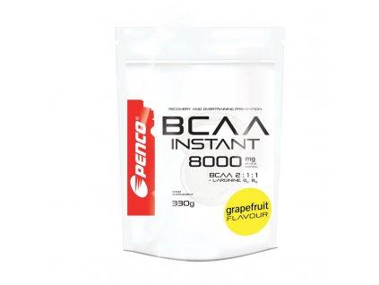 PENCO Aminokyseliny BCAA INSTANT 8000 Grep, 330 g (Počet tablet/porcí 30)