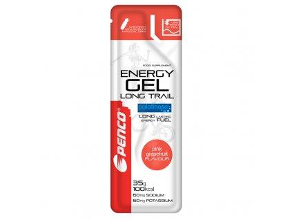 PENCO Energetický gel ENERGY GEL LONG TRAIL 35g  Růžový grep (Počet tablet/porcí 25)