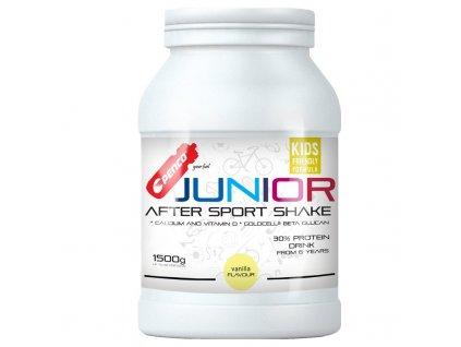PENCO Regenerační nápoj pro juniory JUNIOR AFTER SPORT SHAKE 1500g Vanilka (Počet tablet/porcí 60)