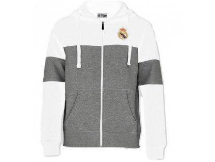 Pánská mikina Real Madrid 20 white/grey