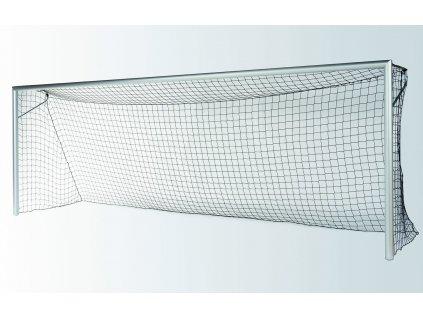 Fotbalová branka FIFA bílá + síťové oblouky 30 mm