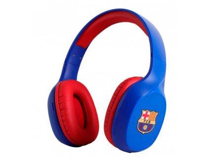 Luxusní sluchátka FC Barcelona bezdrátová