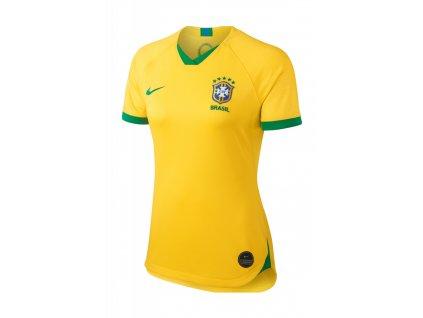 Dámský dres Nike Brazílie Stadium 2019 domácí (Velikost XS)