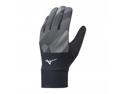 Běžecké rukavice Mizuno Windproof Glove