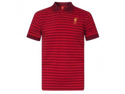 Pánské polo tričko Liverpool FC Striped