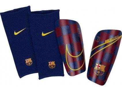 Chrániče Nike FC Barcelona Mercurial Lite