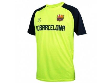 Dětský tréninkový dres FC Barcelona Neon