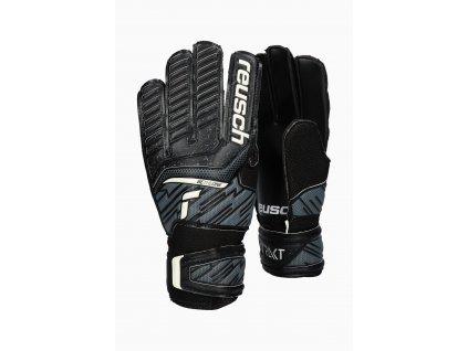 Dětské brankářské rukavice Reusch Attrakt Solid