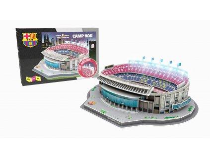 3D Puzzle Nanostad FC Barcelona Camp Nou LED osvětlení