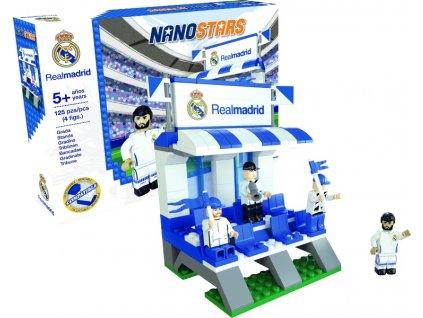 Stavebnice NANOSTARS Real Madrid CF - tribuna