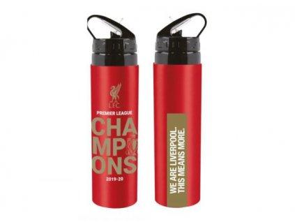 Sportovní alu láhev OEM Liverpool FC Champions 750ml