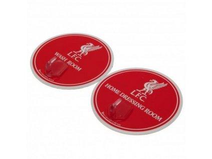 Plastový věšáček OEM 2ks Liverpool FC