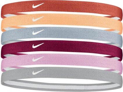 Čelenka Nike Swoosh Sport Headbands 6 pack