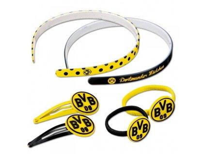 Dívčí sada do vlasů Borussia Dortmund