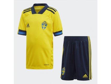 Dětský komplet adidas Švédsko Mini 2020 domácí
