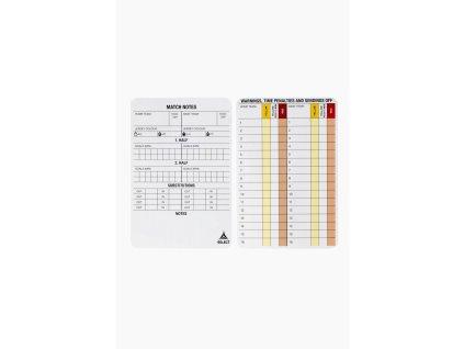 Karty pro poznámky rozhodčího Select 20 ks
