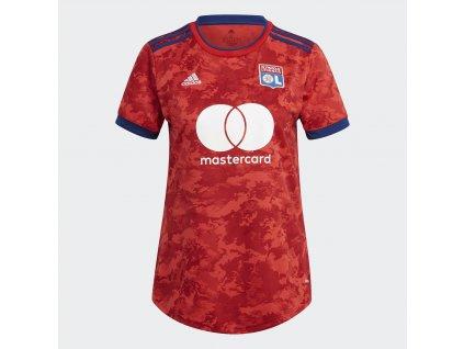 Dámský dres adidas Olympique Lyon 2021/22 venkovní