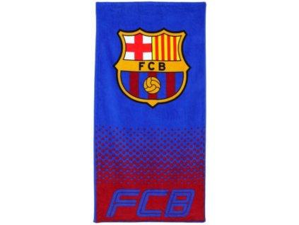 Osuška - ručník FC Barcelona: Znak (70 x 140 cm)