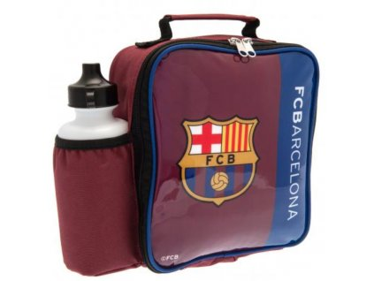 Box na svačinu s láhví na pití FC Barcelona: Logo (21 x 24 x 7 cm láhev 500 ml)