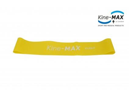 Posilovací guma Kine-MAX Resistance Band 1 X-LIGHT (extra lehká)