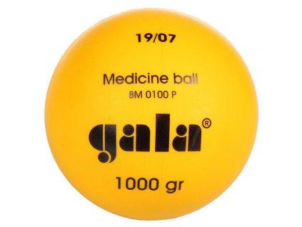 Plastový medicinální míč Gala